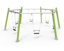 Balançoire en métal / pour parc de jeux / multiple