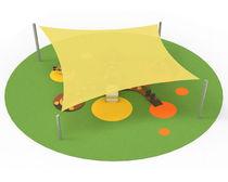 Structure tendue en voile / pour espace public / pour espace public / pour aire de jeux