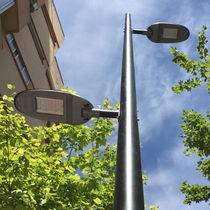 Lampadaire urbain / contemporain / en métal / à LED