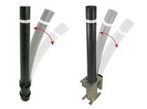 Borne de protection / en caoutchouc / flexible / haute