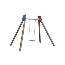 Balançoire en HDPE / en acier / en bois