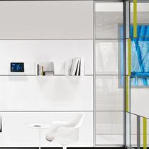 Cloison amovible / en bois / en acier / vitrée