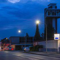 Lampadaire urbain / contemporain / en aluminium / à LED
