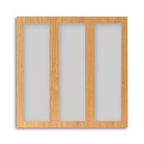 Panneau décoratif en bois / mélaminé / pour faux-plafond / coupe-feu