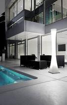 Colonne lumineuse contemporaine / en polycarbonate / à LED / d'extérieur