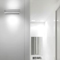 Éclairage de secours mural / rectangulaire / fluocompact / à LED
