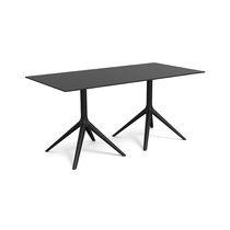 Table contemporaine / en aluminium peint / en aluminium extrudé / en polyéthylène