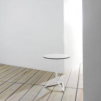 Pied de table en aluminium extrudé / en fonte d'aluminium / contemporain / pour table mange-debout