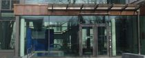 Panneau en verre pour façade / pour porte / pour cloison / pour bâtiment