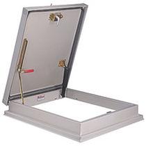 Trappe d'accès au toit / rectangulaire / en aluminium