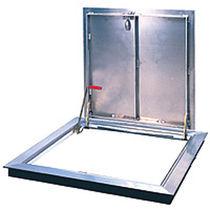Trappe d'accès pour sol / carrée / en aluminium