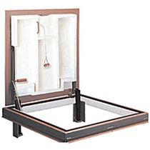 Trappe d'accès pour sol / carrée / coupe-feu / en aluminium