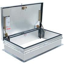 Trappe d'accès de toit / rectangulaire / avec échelle / en aluminium