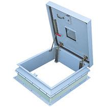 Trappe d'accès de toit / carrée / en aluminium