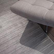 Tapis contemporain / uni / en laine / en coton