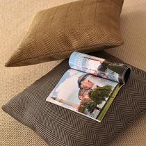 Tissu d'ameublement / mural / à rayures / en coton