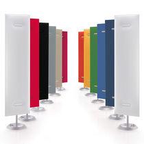 Panneau acoustique pour agencement intérieur / en tissu / décoratif / professionnel