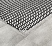 Tapis d'entrée professionnel / en caoutchouc / en aluminium / antidérapant