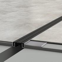 Joint de dilatation en aluminium / de voirie / pour sol / pour parking