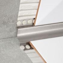 Profilé de finition en acier inox / pour angle intérieur