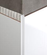 Profilé de finition en aluminium / pour angle extérieur / pour façade / pour cloison