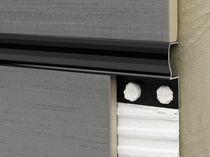 Profilé de séparation en aluminium / pour carrelage
