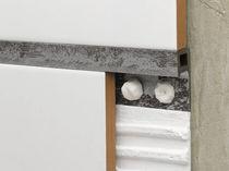 Profilé de séparation en PVC / pour carrelage