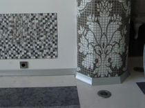 Plinthe en aluminium