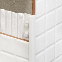 Profilé de finition en PVC / pour carrelage / quart-de-rond