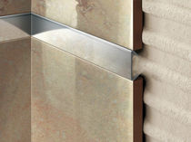 Profilé de séparation en acier / en inox / pour carrelage