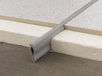 Joint de dilatation en PVC / pour sol