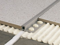 Joint de dilatation en PVC / pour plancher