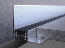 Joint de dilatation en aluminium / mur
