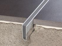 Joint de dilatation aluminium / pour plancher
