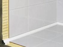 Profilé de finition en PVC / pour carrelage / pour angle intérieur