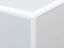 Profilé de finition en aluminium / pour carrelage