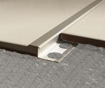 Profilé de séparation en aluminium / en laiton / en inox / pour angle extérieur