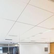 Structure pour plafond en métal / avec ossature cachée