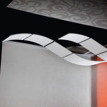 Faux-plafond en acier / en laine minérale / en tissu / en îlot