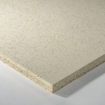 Panneau acoustique pour faux-plafond / pour mur intérieur / en laine de bois / professionnel