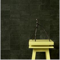Carrelage d'intérieur / mural / en cuir / poli