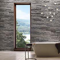 Parement en pierre / intérieur / texturé / décoratif