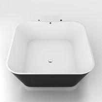 Baignoire à poser / carrée / en Solid Surface