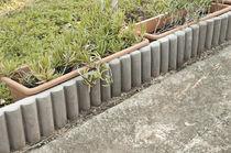 Bordure de jardin / en béton / ronde