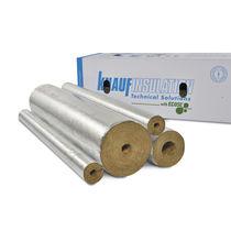 Isolant thermique / en fibre de verre / en laine minérale / pour canalisations