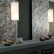 Carrelage d'intérieur / mural / en grès cérame / à motif