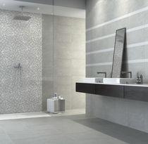 Carrelage de salle de bain / mural / en grès cérame / à motif géométrique