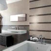 Carrelage de salle de bain / mural / en céramique / uni