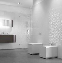 Carrelage de salle de bain / mural / en céramique / à motif géométrique