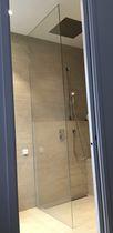 Paroi de douche fixe / en niche / en verre